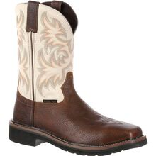 Justin Work Stampede Driller Steel Toe Western Work Boot