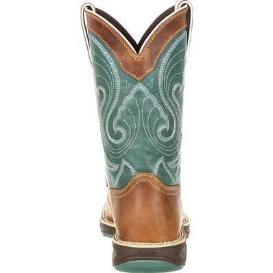 Durango® Ultra-Lite™ Women's Emerald Saddle Western Boot, , large