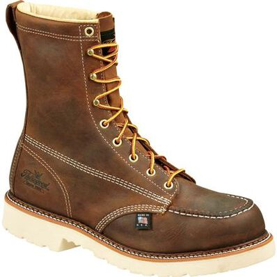Thorogood American Heritage Classic Steel Toe Moc Toe Work Boot, , large