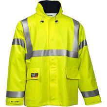 Tingley Eclipse™ Quad-Hazard® Hi-Vis Waterproof Arc-Flash and Flash-Fire Resistant Jacket
