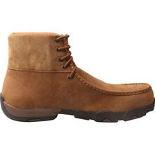 Twisted X Work Driving Moc Men's 6-Inch Alloy Toe Electrical Hazard Chukka Work Boot