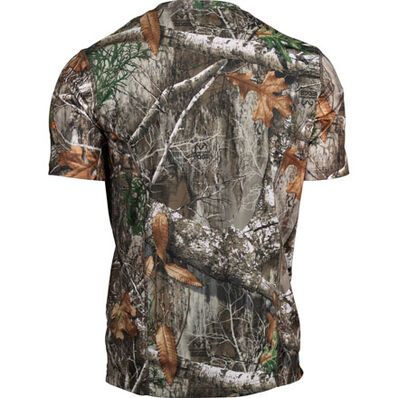 Rocky Camo Short-Sleeve Performance Tee Shirt, Realtree Edge, large