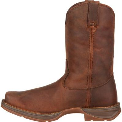 Rebel™ by Durango® Brown Pull-On Western Boot, , large