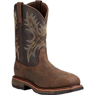 Ariat Workhog H2O Composite Toe Waterproof Western Wellington, , large
