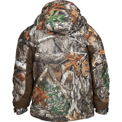 Rocky Junior ProHunter Waterproof Insulated Hooded Jacket, Realtree Edge, large