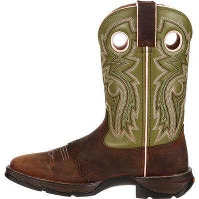 Lady Rebel™ by Durango® Women's Meadow n' Lace Saddle Western Boot, , large