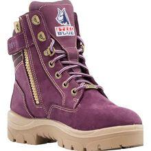 Steel Blue Southern Cross Zip PR Women's Steel Toe Electrical Hazard Puncture-Resisting Work Boot