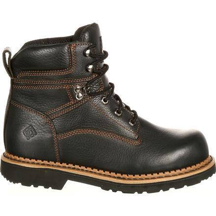 Lehigh Outfitters Men's Black Steel Toe