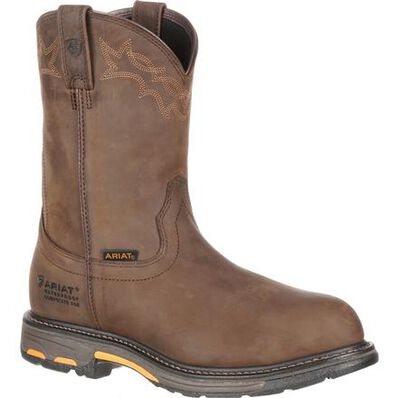Ariat WorkHog H2O Composite Toe Waterproof Western Work Boot, , large