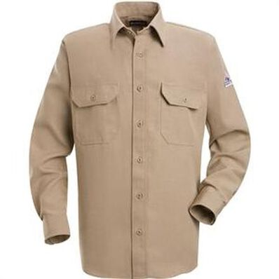 Bulwark Flame Resistant Uniform Shirt, , large