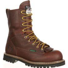Georgia Boot Steel Toe Waterproof Lace-To-Toe Work Boot