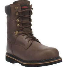Laredo Men's 8-Inch Steel Toe Electrical Hazard Leather Work Boot