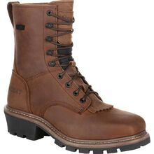 Rocky Square Toe Logger Composite Toe Waterproof Work Boot