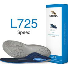 Aetrex Speed Men's Low/Flat Arch Posted with Metatarsal Support Orthotic