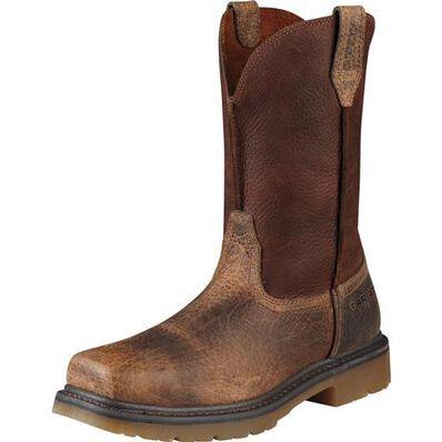Ariat Rambler Steel Toe Pull-On Work Boot, , large