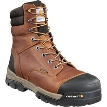 Carhartt Ground Force Men's 8 Inch Composite Toe Waterproof Work Boot