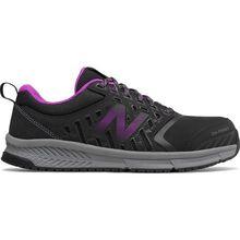 New Balance 412v1 Women's Alloy Toe Black Athletic Work Shoes