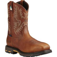 Ariat Workhog Composite Toe CSA-Approved Puncture-Resistant Waterproof Western Work Boot