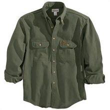 Carhart Moss Sandstone Twill Shirt