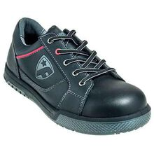 FootGuard Freestyle Black LoCut Steel Toe Static Dissipative Shoe