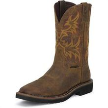 Justin Work Women's Stampede Steel Toe Western Work Boot