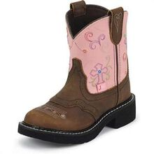 Justin Western Junior Pull-On Boot