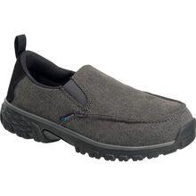 Nautilus Breeze Women's Aluminum Toe Electrical Hazard Canvas Slip-On Work Shoe