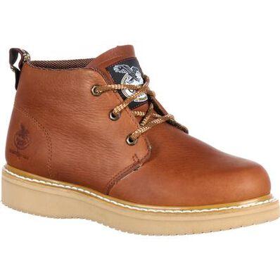 Georgia Boot Wedge Chukka Work Boot, , large