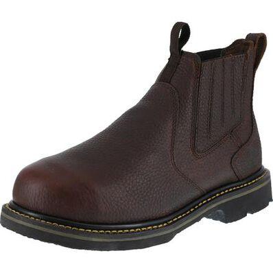 Iron Age Groundbreaker Men's Internal Met Guard Steel Toe Work Boots, , large