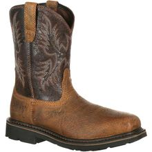 Ariat Sierra Wide Square Toe Steel Toe Puncture-Resistant Western Work Boot