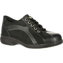 Mellow Walk Women's Daisy Oxford Steel Toe Static Dissipative Work Shoe
