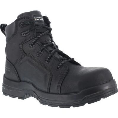 Rockport Works More Energy Women's Composite Toe Waterproof Work Boot, , large