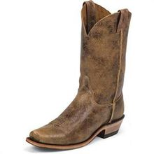 Justin Western Bent Rail Pull-On Boot