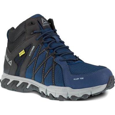 Reebok Trailgrip Work Men's Internal Metatarsal Alloy Toe Electrical Hazard Mid Athletic Shoe, , large