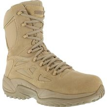 Reebok Stealth Composite Toe Duty Boot with Side Zipper