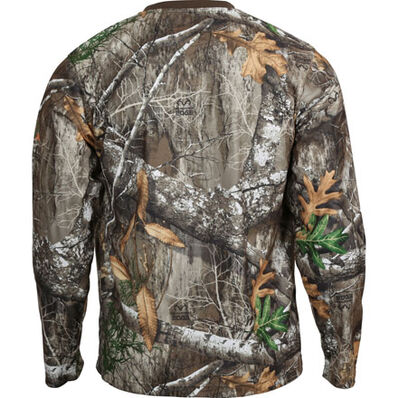 Rocky SilentHunter Long-Sleeve Performance Shirt, Realtree Edge, large