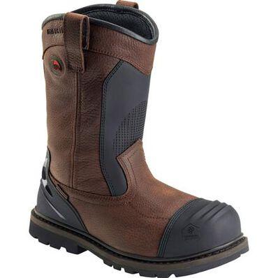 Avenger Men's 11 inch Metatarsal Guard Carbon Nanofiber Toe Puncture-Resistant Waterproof Work Wellington, , large