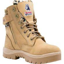 Steel Blue Southern Cross Zip Women's Steel Toe Electrical Hazard Zipper Work Boot