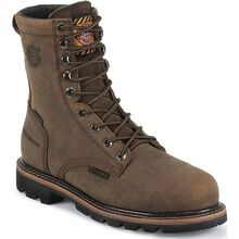Justin Worker II™ Pulley Composite Toe Internal Met Guard Waterproof Work Boot