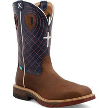 Twisted X CellStretch Men's 12-Inch Alloy Toe Electrical Hazard Waterproof Western Work Boot