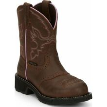 Justin Work Women's Steel Toe Western Work Boot