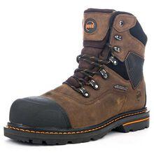 HOSS Range Men's 7 inch Composite Toe Electrical Hazard Puncture-Resistant Waterproof Work Boot