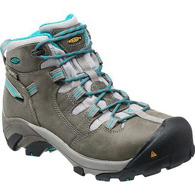 KEEN Utility® Detroit Women's Steel Toe Waterproof Work Hiker, , large