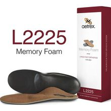 Aetrex Men's Memory Foam Flat/Low Arch Orthotic with Metatarsal Support for Work Boots