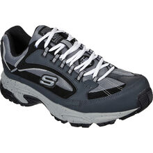 SKECHERS Work Stamina Men's Steel Toe Athletic Work Shoe