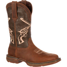 Rebel™ by Durango® Crossed Guns Western Boot