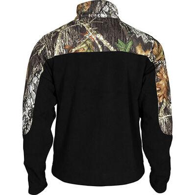 Rocky SilentHunter Fleece Jacket, MossyOak/Blk, large