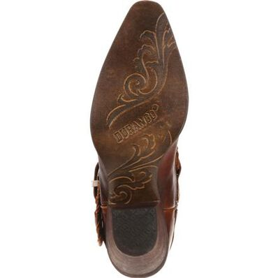 Crush™ by Durango® Women's Spur Strap Demi Western Boot, , large
