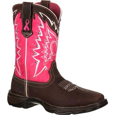 Durango® Benefiting Stefanie Spielman Women's Western Boot, , large