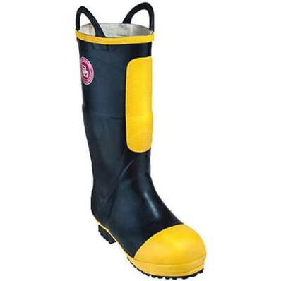 Black Diamond Unisex 16-inch NFPA Insulated Rubber Firefighter Boot, , large